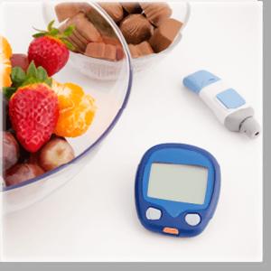血糖値の急上昇を抑える